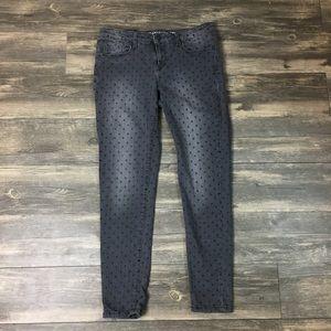Bethany mota polka dot skinny jeans